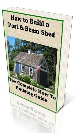 how to build a workshop shed